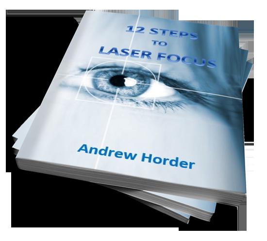 12 Steps to Laser Focus paperback